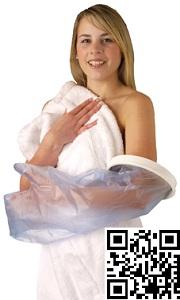 Protection de pl tre douche avant bras gauche droite - Protection platre douche ...
